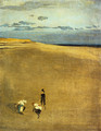 The Beach at Selsey Bill - James Abbott McNeill Whistler