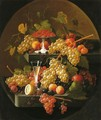 Fruit and Wine Glass - Severin Roesen