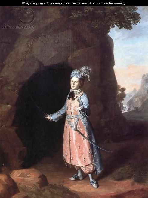 Nancy Hallam as Fidele in Shakespeare
