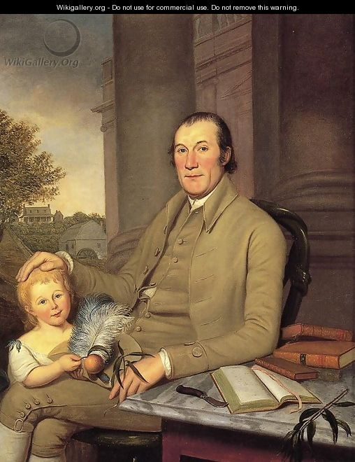 William Smith and His Grandson - Charles Willson Peale