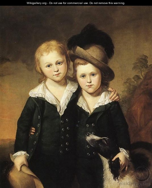 Thomas and Henry Sergeant - Charles Willson Peale