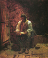 The Chimney Corner - Eastman Johnson