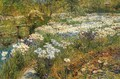 The Water Garden - Frederick Childe Hassam