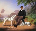 Sacramento Indian with Dogs - Charles Christian Nahl