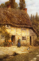 Surrey Farmhouse - Helen Mary Elizabeth Allingham, R.W.S.