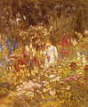 A Cottage Garden - Helen Mary Elizabeth Allingham, R.W.S.