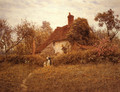 Cottage at Pinner - Helen Mary Elizabeth Allingham, R.W.S.