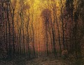 Deep Woods in Fall - John Joseph Enneking