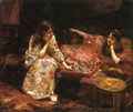 Repose - A Game of Chess - Henry Siddons Mowbray