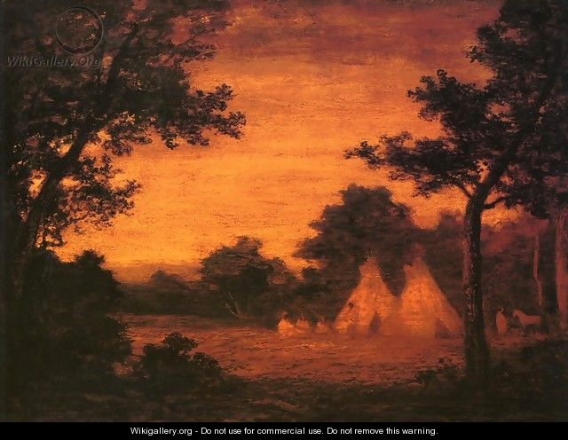 The Golden Hour - Ralph Albert Blakelock