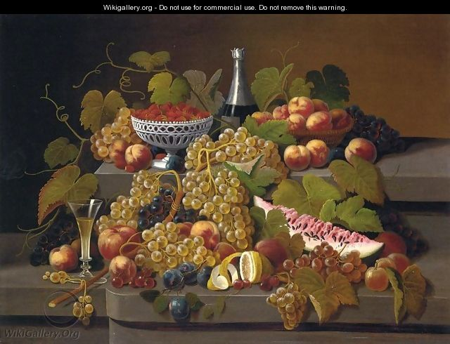 Still Life with Fruit XIII - Severin Roesen