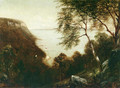 View of Palisades, Hudson River - David Johnson