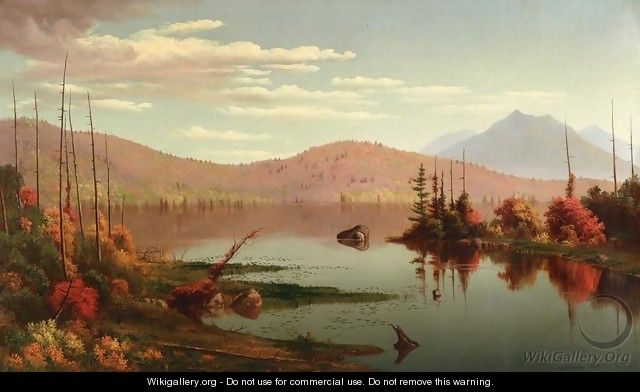 A Lake in the Mountains - Levi Wells Prentice