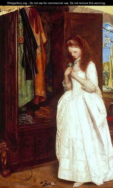 Beauty and the Beast - Arthur Hughes