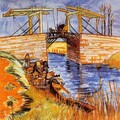 The Langlois Bridge at Arles 2 - Vincent Van Gogh