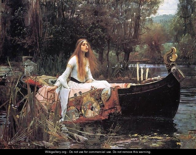 The Lady of Shallot - John William Waterhouse