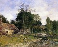 The Old Mill at Saint-Ceneri - Eugène Boudin
