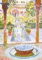 The Gardens of Generalife in Grenada - Theo van Rysselberghe
