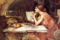 Sketch of Circe - John William Waterhouse