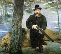 Portrait of M. Pertuiset, the Lion Hunter - Edouard Manet