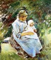 Mother and Child - Theodore Robinson