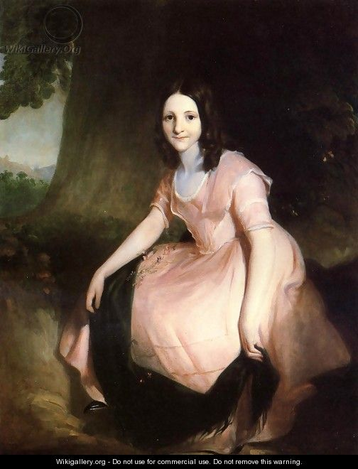 Girl in Pink - Thomas Sully