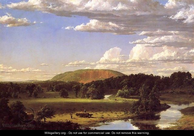 West Rock, New Haven - Frederic Edwin Church