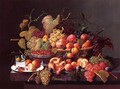 Still Life with Pomegranates - Severin Roesen