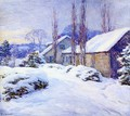 Winter Afternoon - Willard Leroy Metcalf