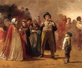 The Story Teller of the Camp - Eastman Johnson