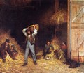Corn Husking - Eastman Johnson