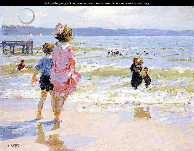 At the Seashore 2 - Edward Henry Potthast