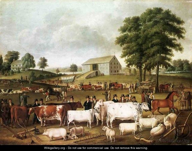 A Pennsylvania Country Fair - John Archibald Woodside Sr.