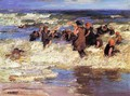 Surf Bathing - Edward Henry Potthast