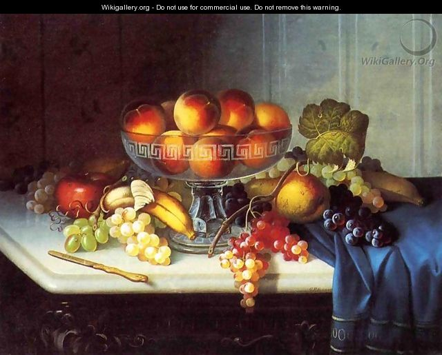 Still Life, Fruit and Knife - Carducius Plantagenet Ream