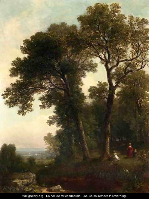 The Picnic - Asher Brown Durand
