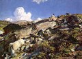 In the Alps - John Singer Sargent
