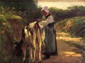 Grazing by the Roadside - Edward Henry Potthast
