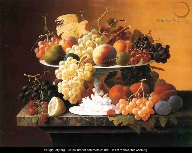Still Life with Fruit VI - Severin Roesen