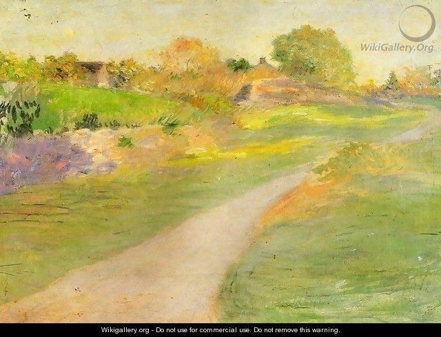 The Road to No-Where - Julian Alden Weir
