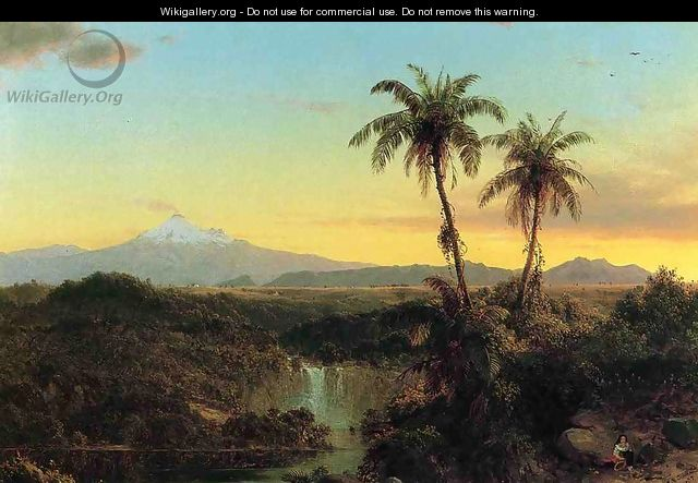 South American Landscape II - Frederic Edwin Church
