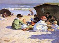 A Day at the Seashore - Edward Henry Potthast