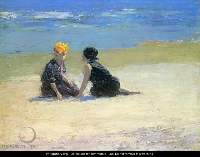 Confidences - Edward Henry Potthast