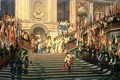 The Reception for Prince Conde at Versailles - Jean-Léon Gérôme