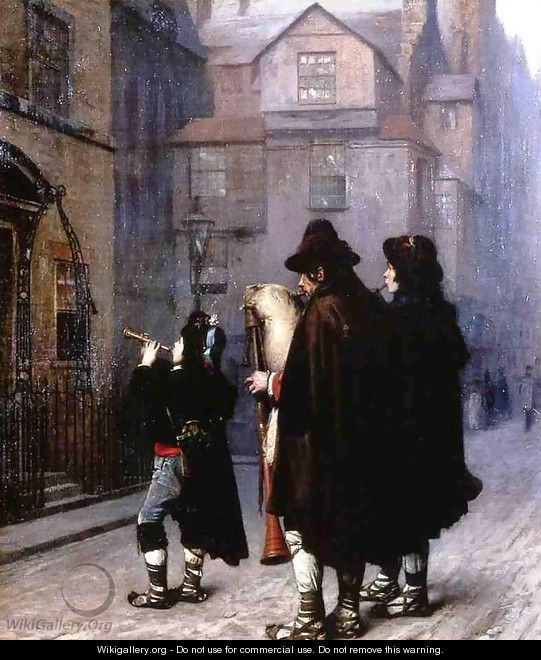 Pifferari in London - Jean-Léon Gérôme