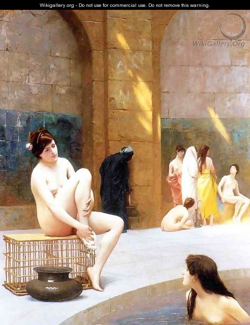 Women Bathing - Jean-Léon Gérôme