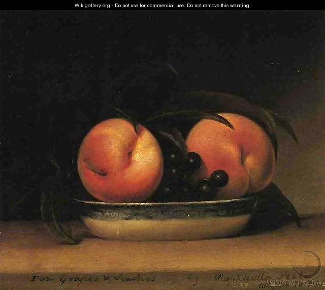 Fox Grapes and Peaches - Raphaelle Peale