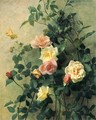 Roses on a Wall - George Cochran Lambdin