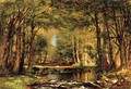 A Catskill Brook - Thomas Worthington Whittredge