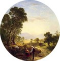 Hudson River Scene - Asher Brown Durand